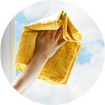 lavaggio vetri e infissi - impresa di pulizie a saronno