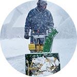 spargi sale - spazza neve - impresa di pulizie multiservizi saronno